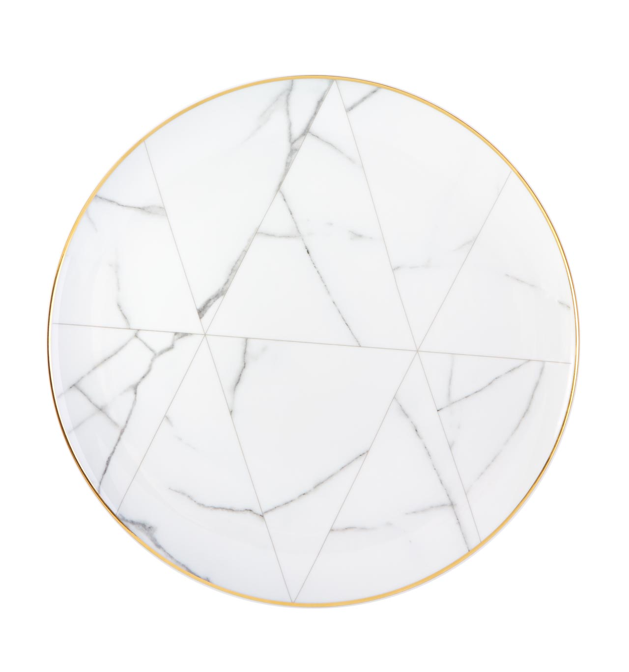 Carrara Porcelain Charger