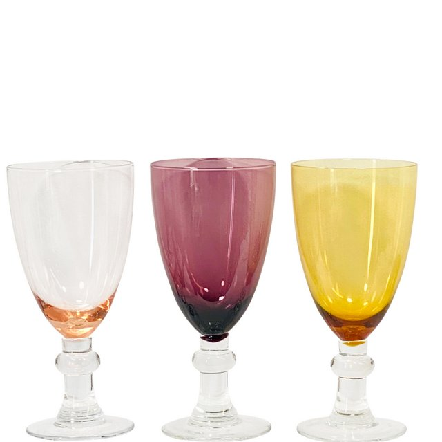 Water Goblets-Blush, Amethyst, Amber