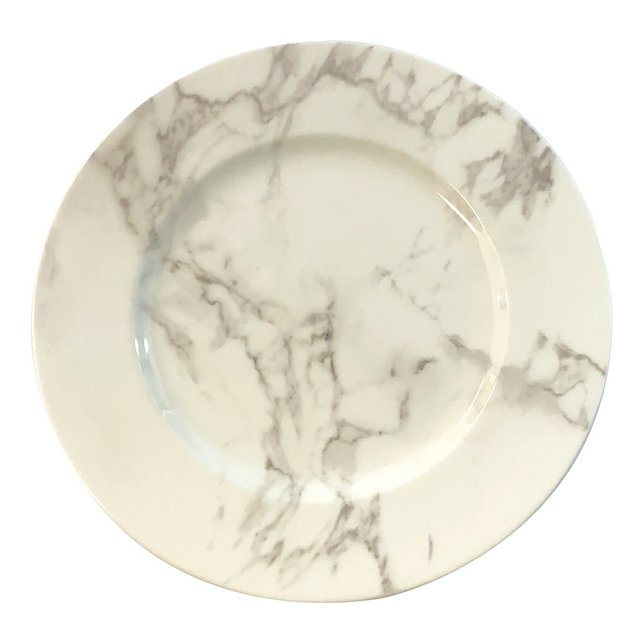 Marble Porcelain Charger