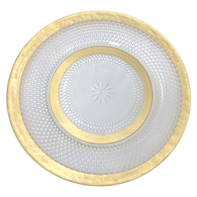 Stella Gold/Glass Charger