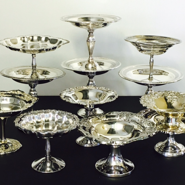Silver Truffle Stands 25+