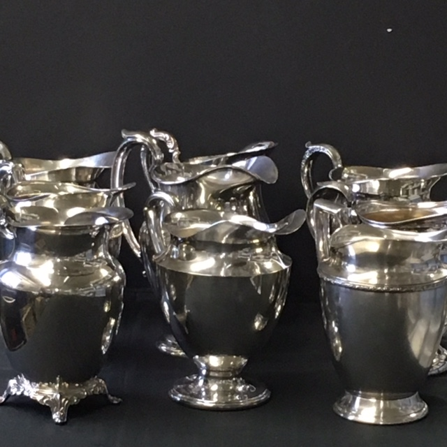 Silver water pitchers 25+